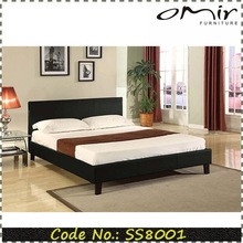 PU Faux Leather Double Bed