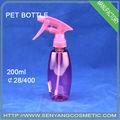 200ml pressionados bomba de pulverizador de garrafa pet pulverizador plástico gatilho
