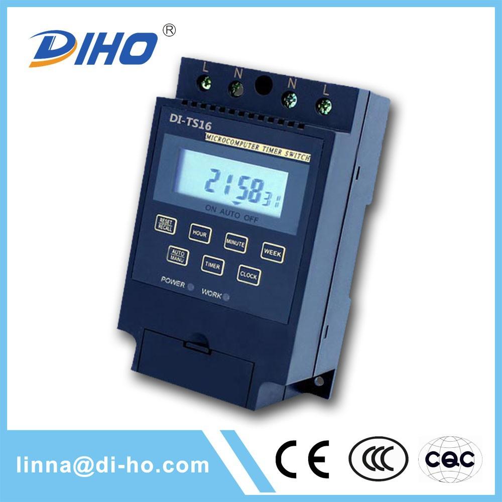 Diho china herstellung programmierbar lichtschalter timer; ac220v lichtschalter timer; lichtschalter timer