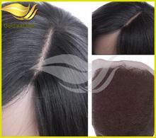 100% brazilian human hair silk top base closure large stock wholesale