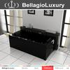 Black massage Bathtub, European standard Whirlpool, 100% acrylic bathtub