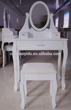 Dresser/ K/D Dressing Table with Stool/Wooden Dresser