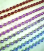 Colored metal ball chain