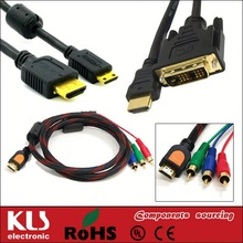 3.5mm jack audio+hdmi cable UL CE ROHS 02