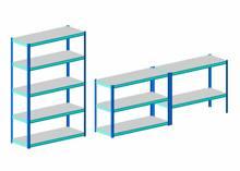 Slotted Angle Iron Storage Rack