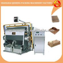 Automatic creasing and die cutting press die cutting machine