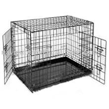 Metal Pet Cage with Double Doors