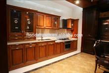 Antique raise door american style Kitchen cabinet design