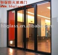 BS 476 fireproof glazing door