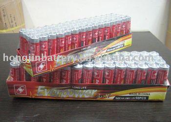 SUPER POWER R03 um4 AAA 1.5v dry battery