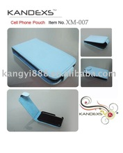 Leather Flip Cell phone pouches