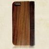 China phone case for iphone5 Unique Handmade Natural Wood Wooden leather Case hard Cover for iPhone 5 (Walnut Rosewood and so on