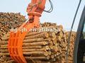 excavadora de cuchara bivalva madera