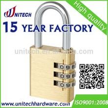 37mm 3-digit code lock