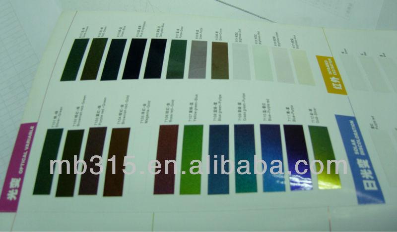 OV-71 series Colorful metal luster optical variable ink