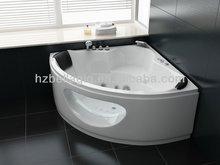 Hot sale new round acrylic bathtub, indoor whirlpool bathtub