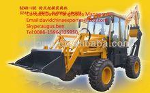 shenwa bigger capacity SW40-15 backhoe loader digger