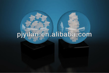100mm,80mm,60mm lucky big crystal bowlder ball with wooden base personalized crystal ball quartz crystal ball sphere