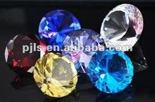 Colourful Crystal machine made diamond