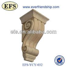 El más barato de antigüedades caliente- venta de madera simple ménsulas decorativas( efs- ycy- 032)