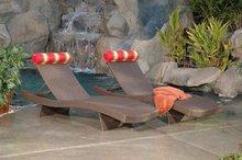 Deluxe Rattan sun Lounge WF-062