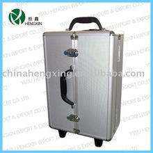 aluminum tool box with wheels portable aluminum holder,trolley aluminum tool box for trucks
