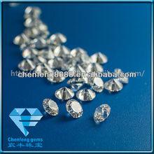round shape synthetic cubic zirconia gemstone
