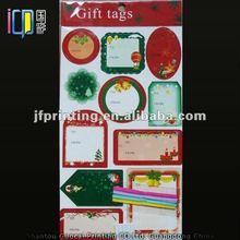 Popular handmade christmas paper gift tags wholesale