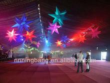 Elegant wonderful decoration festival colorful stars decoration