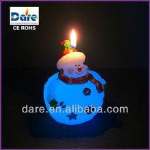 China Real Wax Color Changing Art LED Christmas Tree Candle Light