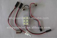 PCB 6SMD 5050 LED Car ROOF LIGHT Led Car Roof Lamp led doom light