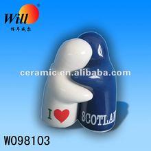 ceramic salt and pepper;ceramic s&p