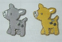 Embroidered Little Dog Patch(Perfect for Garments, Toys, Handbags and Footwears. Various Designs are Available)