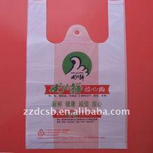 plastic grocery t-shirt shopping bag