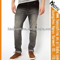 Wholesale beads mens fashion denim jeans salopette jeans man (HY1839)