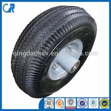 Qingdao Wholesale 10 Inch Pneumatic wheel barrow solid rubber wheel
