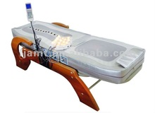 infrared heated dual tapper jade massage bed