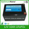 lifepo4 battery 12v 10ah deep cycle solar light batteries