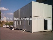 Flat pack office container building