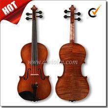 High Grade Master Violin, Antique Oil Varnish Handmade Violin (VHH900)
