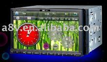 New design double din car dvd with GPSFM/TV/AV/USB/SD/DVD)