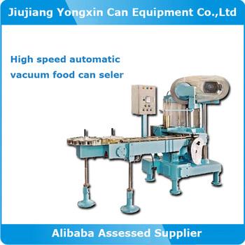 High speed tin can sealer machine price