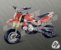 dirtbike 49cc hobbit crossbike sujeira moto cross bicicleta do bolso
