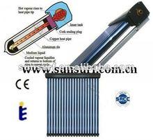 High Pressure Thermal System Heat Pipe Vacuum Tube Solar Hot water