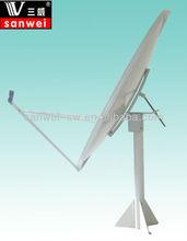 ku120cm satellite dish antenna