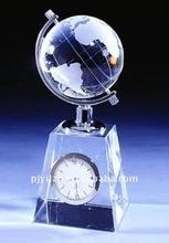 great earth ball clock crystal clock global