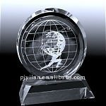 elegant custom made cheap etched crystal ball