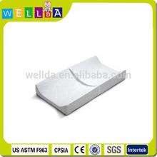 PVC PEVA waterproof baby diaper contoured changing pad
