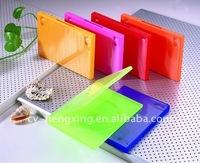 PP 14mm single long colorful slim elegant dvd case
