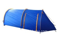 Double layer 1~2 persons roof top camping tunnel tent